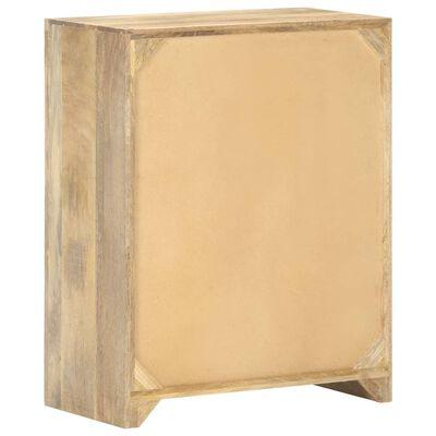 """vidaXL Sideboard 23.6""""x11.8""""29.5"""" Solid Mango Wood"""