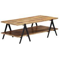 """vidaXL Coffee Table 45.3""""x23.6""""x15.7"""" Solid Mango Wood"""