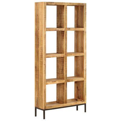 """vidaXL Bookshelf 31.5""""x9.8""""x68.9"""" Solid Mango Wood"""