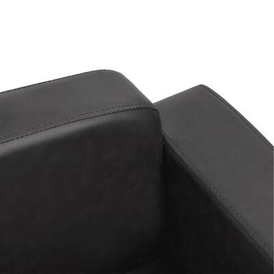 "vidaXL Dog Sofa Dark Gray 31.5""x19.7""x15.7"" Faux Leather"