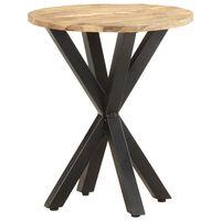 "vidaXL Side Table 18.9""x18.9""x22"" Solid Mango Wood"