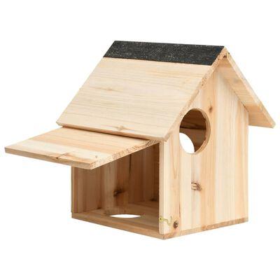"""vidaXL Squirrel House Solid Firwood 10.2""""x9.8""""x11.4"""""""