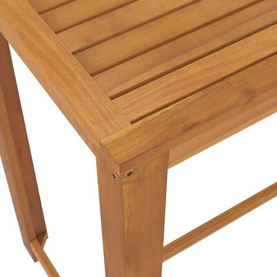 vidaXL 5 Piece Garden Bar Set with Cushions Brown