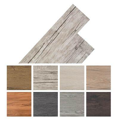 "vidaXL Self-adhesive PVC Flooring Planks 54 ft² 0.08"" Oak Washed"