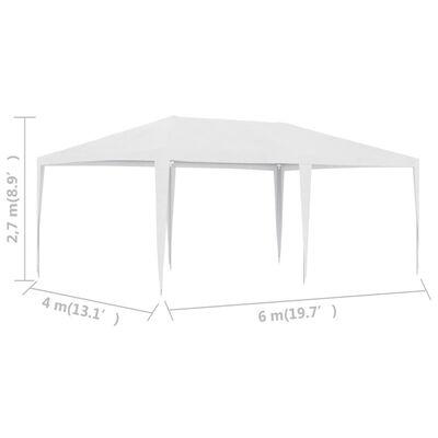 vidaXL Party Tent 13.1'x19.7' White