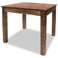 "vidaXL Dining Table Solid Reclaimed Wood 32.3""x31.5""x29.9"""