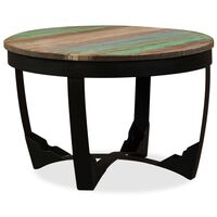 """vidaXL Side Table Solid Rough Mango Wood 23.6""""x15.7"""""""
