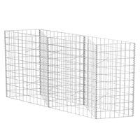"""vidaXL Gabion Basket Galvanised Steel 47.2""""x11.8""""x39.4"""""""
