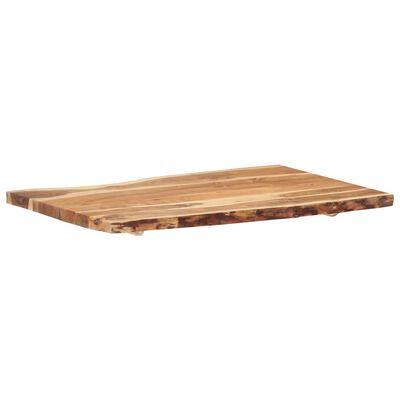 """vidaXL Table Top Solid Acacia Wood 39.4""""x(19.7""""-23.6"""")x1.5"""""""