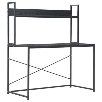 "vidaXL Computer Desk Black 47.2""x23.6""x54.3"""