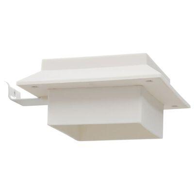 """vidaXL Outdoor Solar Lamps 12 pcs LED Square 4.7"""" White"""