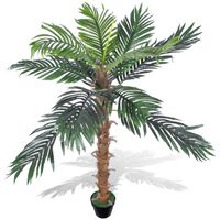 """Artificial Plant Coconut Palm Tree with Pot 55"""""""
