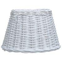"vidaXL Lamp Shade Wicker 15""x9"" White"