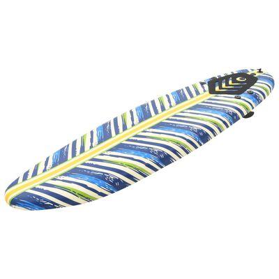 """vidaXL Surfboard 66.9"""" Leaf"""