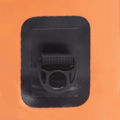 vidaXL Dry Bag Orange 7.9 gal PVC