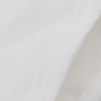 "vidaXL 3 Bow Bimini Top White 72""x63""x53.9"""