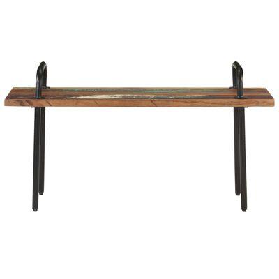 "vidaXL Bench 43.3"" Solid Reclaimed Wood"