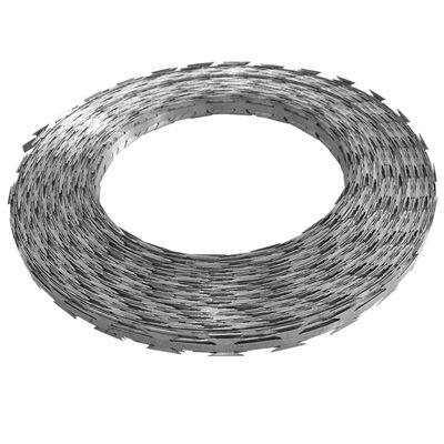 vidaXL Razor Concertina Wire Galvanised Steel 1640.4'