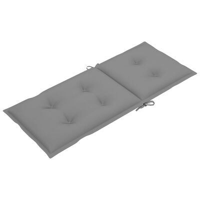 "vidaXL Garden Chair Cushions 6 pcs Gray 47.2""x19.7""x2.8"""