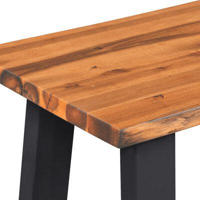 "vidaXL Bench Solid Acacia Wood 57.1"""