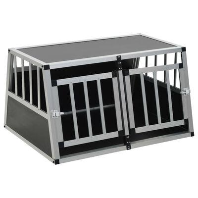 """vidaXL Dog Cage with Double Door 35""""x27.2""""x19.7"""""""