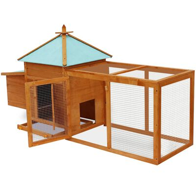 vidaXL Outdoor Chicken Coop
