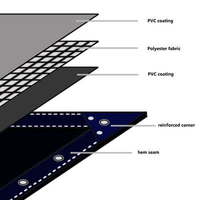 vidaXL Tarpaulin 650 g/m² 6.6'x9.8' Gray