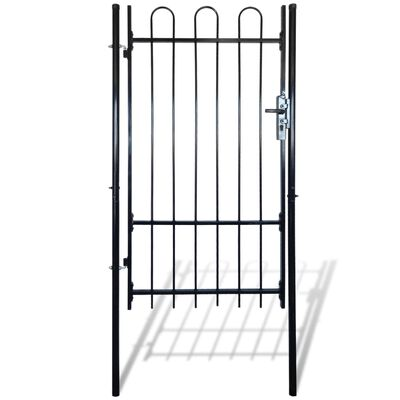 """Fence Gate with Hoop Top (single) 39.4""""x78"""""""