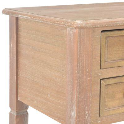 "vidaXL Writing Desk Brown 43.1""x17.7""x30.5"" Wood"