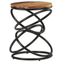 """vidaXL End Table 15.7""""x15.7""""x20.5"""" Solid Acacia Wood"""