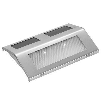vidaXL Solar 4 x Stair Lamp