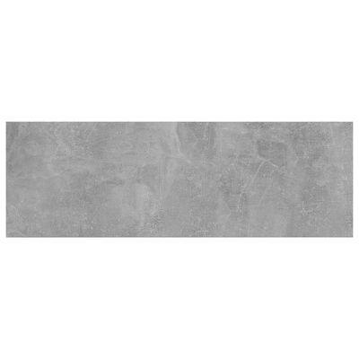 "vidaXL Bookshelf Boards 8 pcs Concrete Gray 23.6""x7.9""x0.6"" Chipboard"