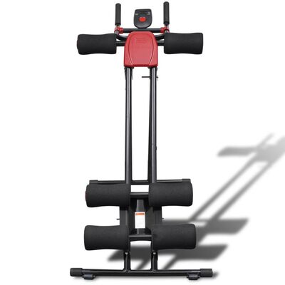 Foldable Core and Abdominal Trainer with Display