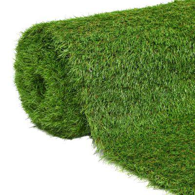 """vidaXL Artificial Grass 4.4'x26.2'/1.6 Green"""""""