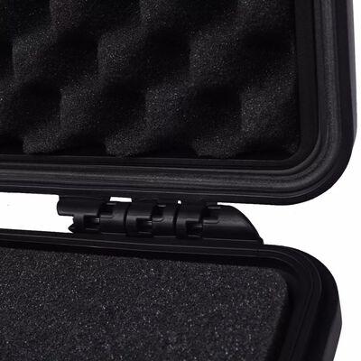 "vidaXL Protective Equipment Case 10.6""x9.7""x4.9"" Black"