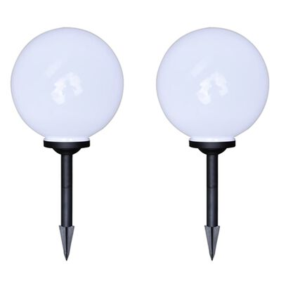 """vidaXL Outdoor Pathway Lamps 4 pcs LED 11.8"""" with Ground Spike"""