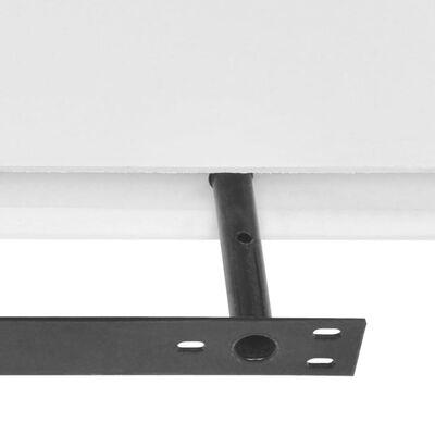 "vidaXL Wall Shelves 4 pcs White 31.5"""
