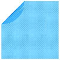 "vidaXL Floating Round PE Solar Pool Film 150"" Blue"