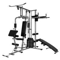 vidaXL Multi-functional Home Gym 143.3lb