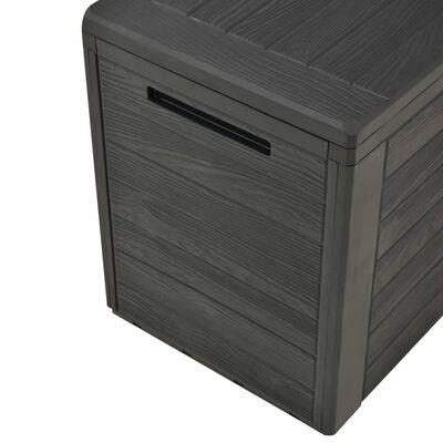"""vidaXL Garden Storage Box Anthracite 45.7""""x17.3""""x21.7"""""""