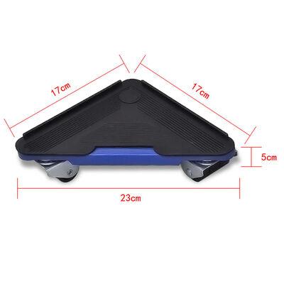 vidaXL Furniture Transport Set Lifter And Wheelset