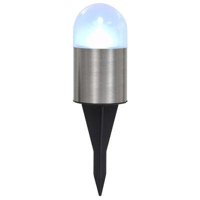 vidaXL Solar Ground Lights 12 pcs LED Lights White