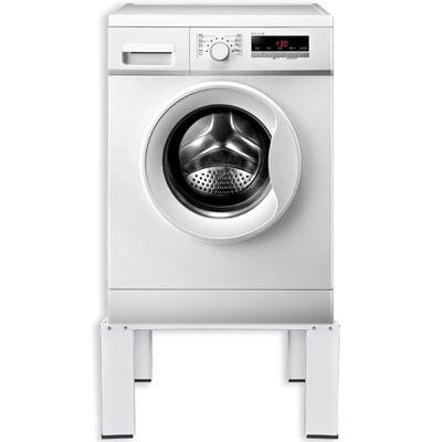 vidaXL Washing Machine Pedestal White