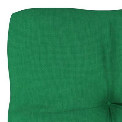 "vidaXL Pallet Sofa Cushion Green 22.8""x22.8""x4"""