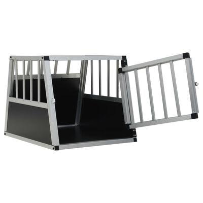 "vidaXL Dog Cage with Single Door 21.3""x27.2""x19.7"""