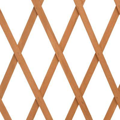"vidaXL Garden Trellis Fence Orange 70.9""x39.4"" Solid Firwood"