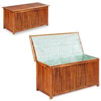 vidaXL Garden Storage Box 117x50x58 cm Solid Acacia Wood