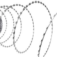 vidaXL Concertina NATO Razor Wire Galvanised Steel 984.3'