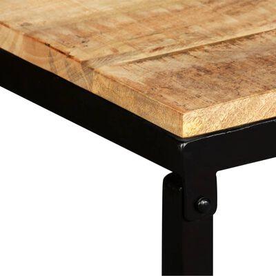 "vidaXL Bench Solid Mango Wood 43.3""x13.8""x17.7"""