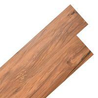 """vidaXL Self-adhesive PVC Flooring Planks 54 ft² 0.08"""" Elm Nature"""